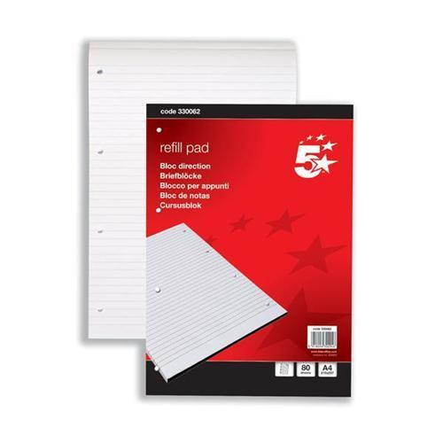 5 Star Office Headbound Refill Pad