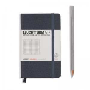 Leuchtturm 1917 Book Linen Pocket (A6) Notebook