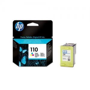 HP 110 Inkjet Cart Colour CB304AE