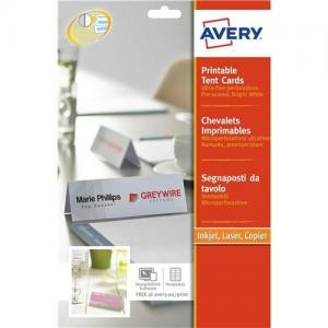 Avery Printable Tent Card 4TV L4794-10