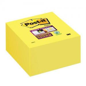 3M Post-it Super Sticky Note Cubes