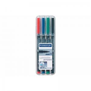 Staedtler Lumocolor Permanent Markers Broad Assorted Box