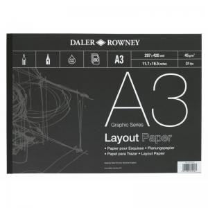 A-Series Layout Pad 45gsm