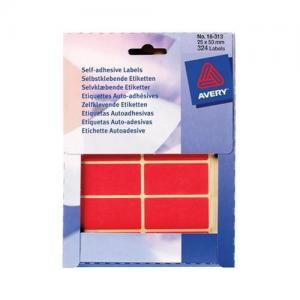 Avery Self Adhesive Stickers - Rectangle (330 labels per pack)