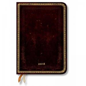 Paperblanks 2018 Midi 12-Month Horizontal Week-to-View Diary