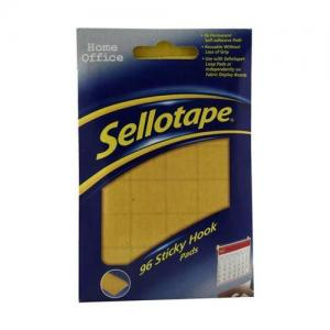 Sellotape Sticky Hook Pads (96 Pads)