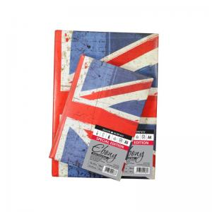 Ebony Union Jack Sketchbook