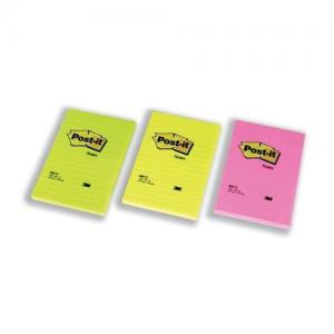 3M Post-it Super Sticky Notes Lined Notes XXL - Neon
