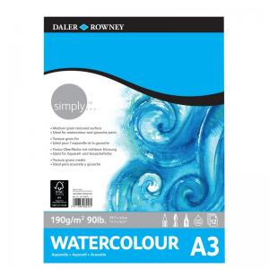 Simply Watercolour Pad 190gsm