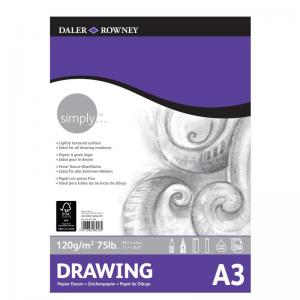 Simply Drawing Pad 120gsm