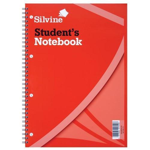 Silvine Student Twin Wire Notebook