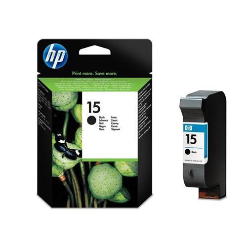 HP 15 Inkjet Cart Black C6615DE