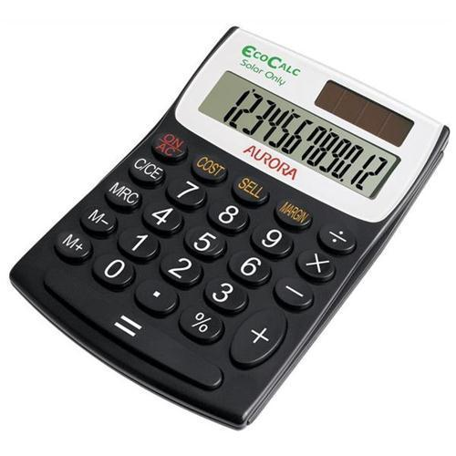 Aurora EcoCalc EC404 Semidesk Calculator