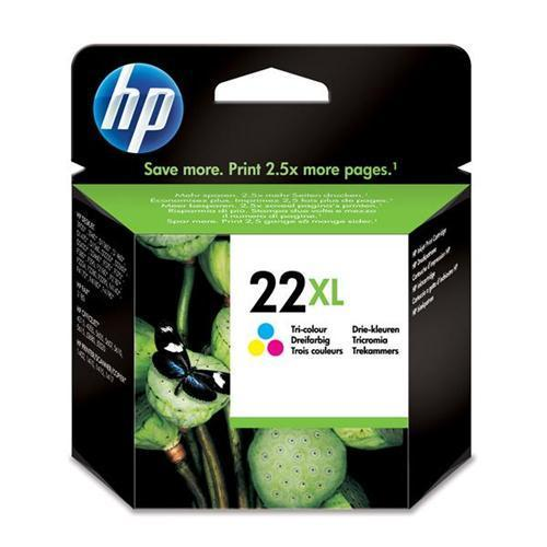 HP 22XL Inkjet Cart Colour C9352CE