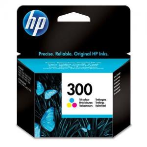 HP 300 Inkjet Cart Colour CC643EE