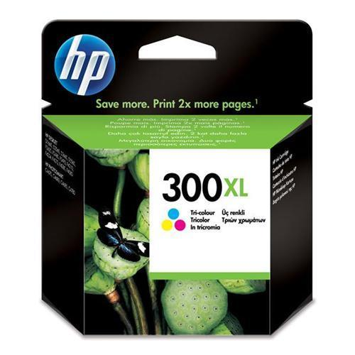 HP 300XL Inkjet Cart Colour CC644EE