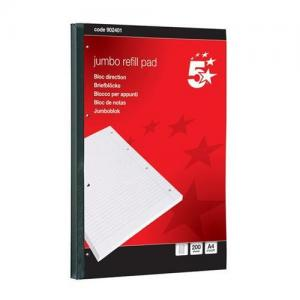 5 Star Office Jumbo Sidebound Refill Pad