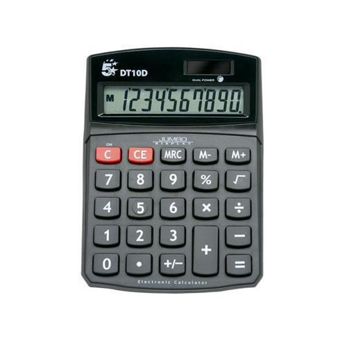 5 Star Office DT10D Desktop Calculator