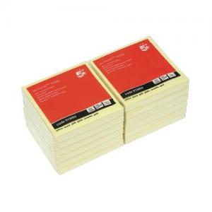 5 Star Office Re-Move Concertina Note Pads