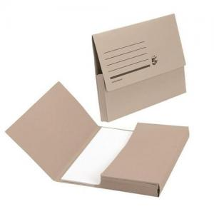 5 Star Office Mediumweight A4 Document Wallets (Pkd 50)