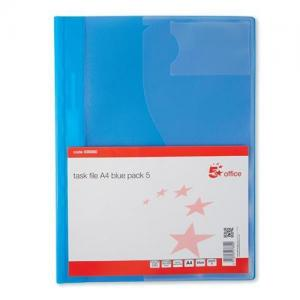 5 Star Office A4 Pocket Task File
