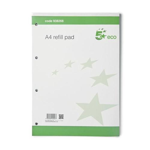 5 Star Eco A4 Refill Pad