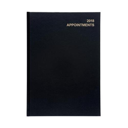 5 Star Office A4 Day to Page 2018 Appointments Diary