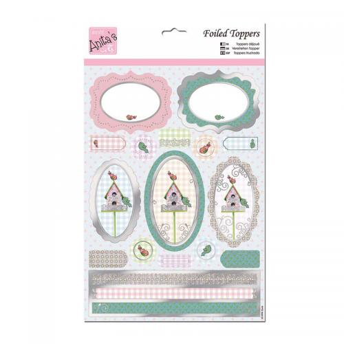 Anita's A4 Die-cut Toppers - Little Birdhouse