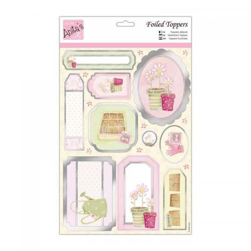 Anita's Foiled Toppers & Paper Pack - Sowing seeds