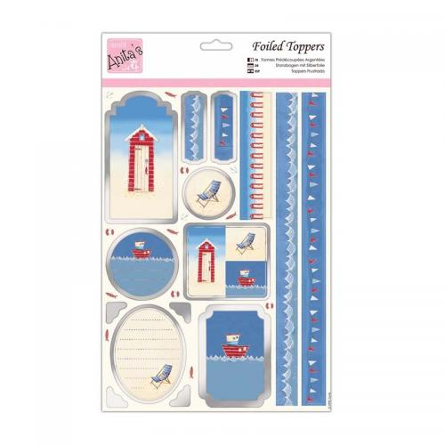 Anita's Foiled Toppers & Paper Pack - By the Sea