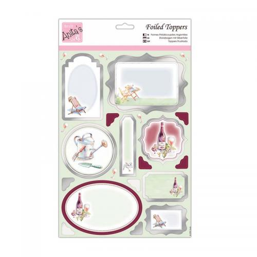 Anita's Foiled Toppers & Paper Pack  - Favourite Times