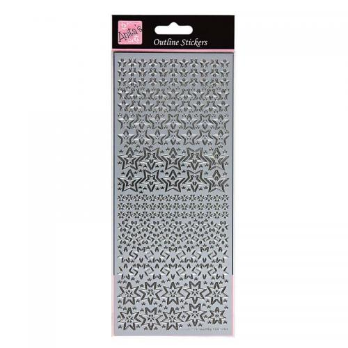 Anita's Outline Stickers - Sparkling Stars