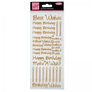 Anita's Glitterations - Birthday Best Wishes