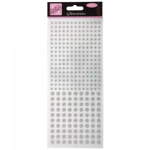 Anita's Glitterations Sticker - Dots