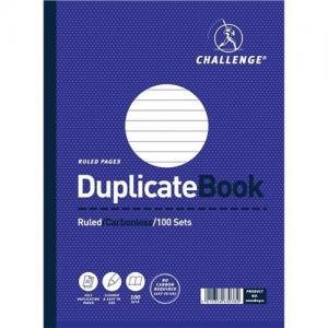 Challenge Carbonless Ruled - Taped Duplicate Book