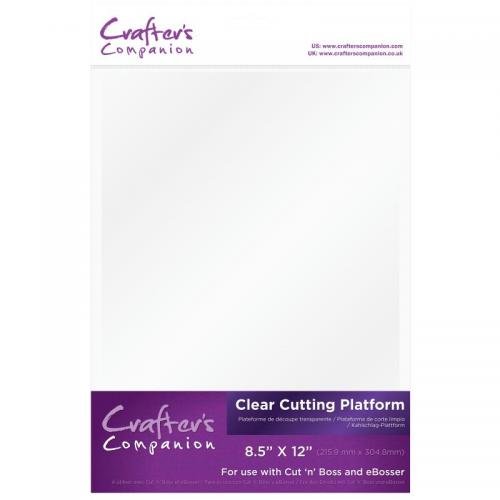 Crafter's Companion Machine Plates - Clear Cutting Platform
