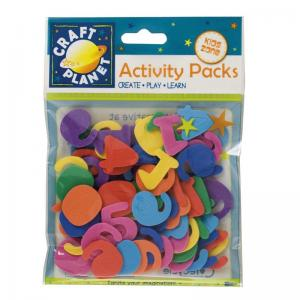 Craft Planet Crafty Foam (8pk) - Numbers (25mm)