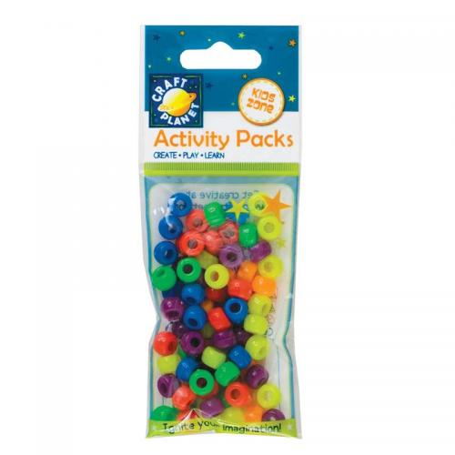 Craft Planet Pony Beads (75pcs, 19g)