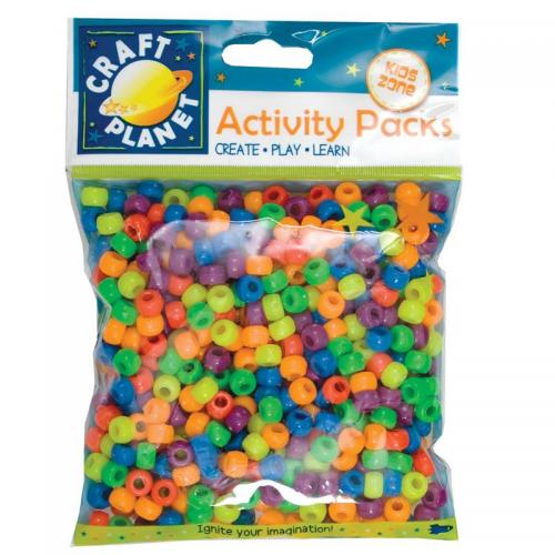 Craft Planet Pony Beads (500pcs, 140g)