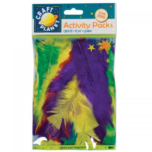 Craft Planet Turkey Flat Feathers (7g)