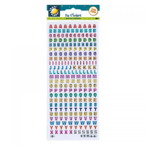 Craft Planet Fun Stickers - Reflective
