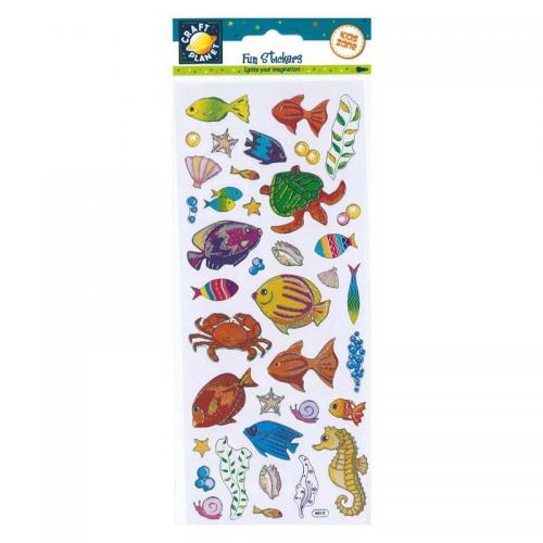 Craft Planet Fun Stickers - Sea Life