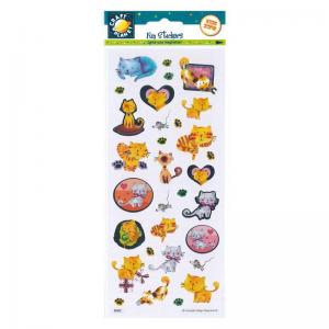 Craft Planet Fun Stickers - Pampered Cats
