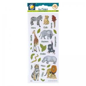 Craft Planet Fun Stickers - Zoo Animals