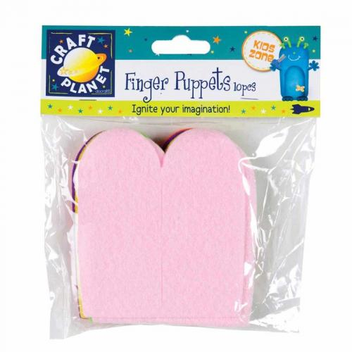 Craft Planet Finger Puppets (10pk)