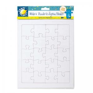 Craft Planet Make A Puzzle (40pcs) - 2 Jigsaw Blanks