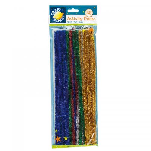 Craft Planet Stems Glitter (40pk) - 300mm