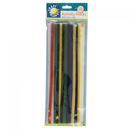 Craft Planet Chenille Stems (20pk) - 300mm