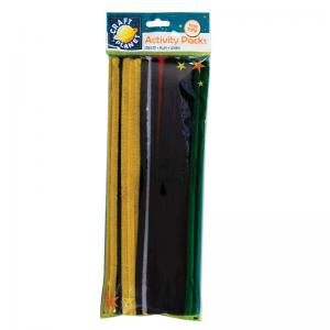 Craft Planet Chenille Stems (60pk) - 300mm