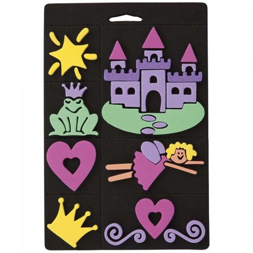 Craft Planet Foam Stamp Set - Princess